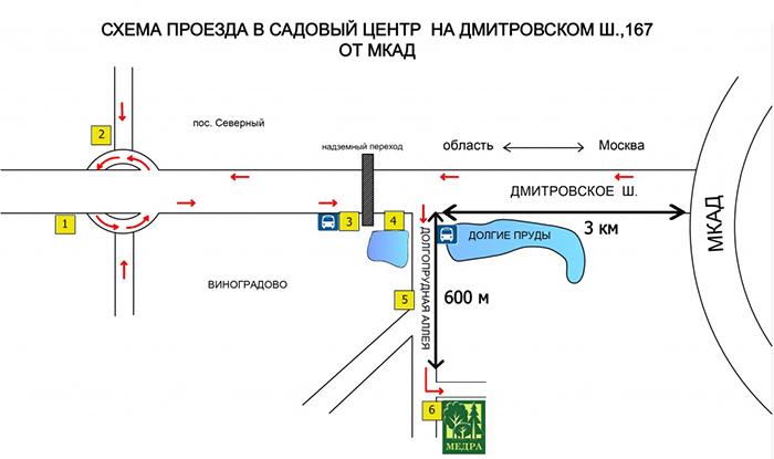 Дмитровское шоссе рассада 39